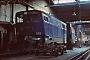 """Henschel 29862 - DB """"202 001-4"""" 14.07.1968 - Hamm (Westfalen), Bahnbetriebswerk PHelmut Philipp"""