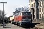 """Henschel 31318 - DB """"216 158-6"""" 27.03.1981 - Paderborn, Haltepunkt Kasseler TorMichael Hafenrichter"""