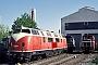 "Krauss-Maffei 18297 - BSBG ""D 9"" 26.04.2007 - Hattingen, Westfälische Lokomotivfabrik Hattingen Karl ReuschlingMartin Welzel"