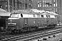 "Krupp 4047 - DB ""V 160 004"" 04.06.1967 - Hamburg, HauptbahnhofHelmut Philipp"