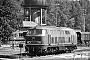 """Krupp 5152 - DB """"218 131-1"""" 15.08.1978 - Bestwig, BahnbetriebswerkMichael Hafenrichter"""