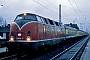 """MaK 2000014 - DB """"220 014-5"""" 02.01.1981 - Buxtehude, BahnhofMichael Hafenrichter"""