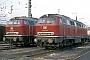 """MaK 2000031 - DB """"216 041-4"""" 26.03.1980 - Herne-Eickel, Bahnbetriebswerk Wanne-EickelMartin Welzel"""