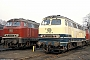 "MaK 2000043 - DB ""216 053-9"" 25.03.1980 - Gelsenkirchen-Bismarck, BahnbetriebswerkMartin Welzel"