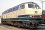 """MaK 2000048 - DB """"216 058-8"""" 26.03.1980 - Herne-Eickel, Bahnbetriebswerk Wanne-EickelMartin Welzel"""