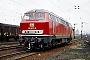 "MaK 2000082 - DB ""215 077-9"" 28.02.1977 - Aschaffenburg, BahnbetriebswerkHelmut Philipp"